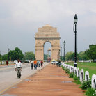 Picture - Road leading up to India Gate.