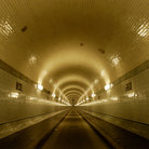 "Picture - ""Old Elbtunnel"" in Hamburg."