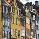 Picture - Old buildings, Nyhavn, Copenhagen.