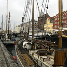 Picture - The Nyhavn canal in Copenhagen.