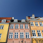 Picture - Colorful buildings along the New Harbor in Copenhagen.