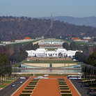 Picture - Australian Parliament House in Canberra.