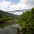 Picture - New River Bridge in West Virginia.