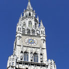 Picture - The ornate tower of Munich's Neues Rathaus.