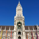 Picture - Tower of the Munich Town Hall.