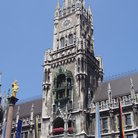 Picture - New City Hall in Marienplatz in Munich.