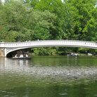 Picture - Bow Bridge in Central Park, New York City.