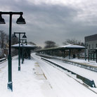 Picture - Sheepshead Bay subway station, Brooklyn, New York.