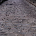 Picture - Cobblestone Street in Brooklyn.