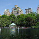 Picture - Boat House in Central Park, New York City.