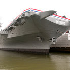 Picture - The USS Intrepid at the Intrepid Sea-Air-Space Museum in New York City.