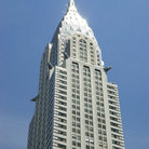 Picture - Art Deco Chrysler Building in lower midtown New York City.