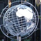 Picture - Globe at Trump Tower on Columbus Circle in New York.