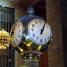 Picture - Original Clock at Grand Central Station, New York City.