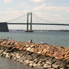 Picture - Throgs Neck Bridge, New York.