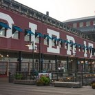 Picture - Pier 17, South Street Seaport, New York.