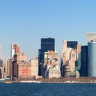 Picture - The famous view from Staten Island of New York City.