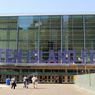 Picture - View of the Staten Island Ferry Terminal.