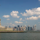 Picture - Statue of Liberty & New York City skyline.