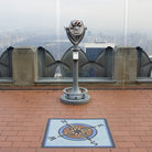 Picture - A viewing device at Top of the Rock in New York City.