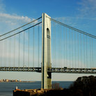 Picture - Verrazano Narrows Bridge, New York City.