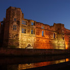 Picture - Night view of the Newark Castle in Newark.