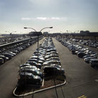 Picture - Car Park at Newark Airport, New Jersey.