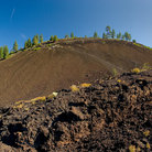 Picture - Lava rocks at Newberry National Volcanic Monument, near Bend.