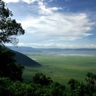 Picture - View of Ngorongoro Crater.