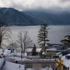 Picture - Lake Chuzenji in winter, Nikko.