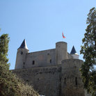 Picture - The Castle on Noirmoutier Island.