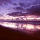 Picture - Sunrise at Noosa beach.