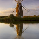Picture - Windmill in Norfolk Broads.
