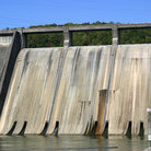 Picture - Wall of the Norris Dam.
