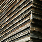 Picture - Detail of a wood building at the Norwegian Folk Museum in Oslo.