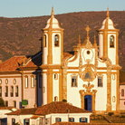Picture - Late afternoon sun on the Nossa Senhora do Carmo, a UNESCO World Heritage Site.