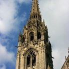 Picture - Tower of the Notre Dame Cathedral at Chartres.