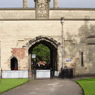 Picture - Archway to Nottingham Castle.