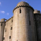 Picture - Exterior of the Nunney Castle.