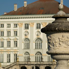 Picture - Details of Nymphenburg Palace in Munich.