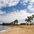 Picture - Early morning on Haleiwa Beach, Oahu.