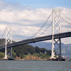Picture - Oakland Bay Bridge in San Francisco.