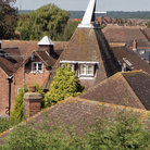 Picture - The roofs of Oast Houses.