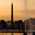 Picture - Place de la Concorde with the Egyptian Obelisk, Paris.