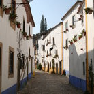 Picture - An old street in Obidos.