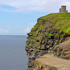 Picture - O'Briens Tower on top of The Cliffs of Moher.