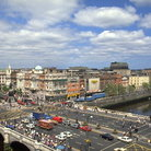 Picture - O'Connell Street and the River Liffey in Dublin.