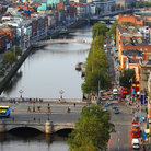Picture - The O'Connell Bridge over the River Liffey in Dublin.