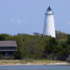Picture - Ocracoke Lighthouse is the oldest active lighthouse in North Carolina.