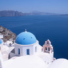 Picture - Blue domed churches of Oia.